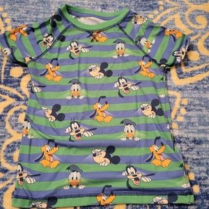 5/$10 Boys 9/10 Mickey Mouse Pajama Top Disney